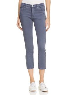 AG Prima Crop Skinny Jeans in Sulfur Frontier Blue