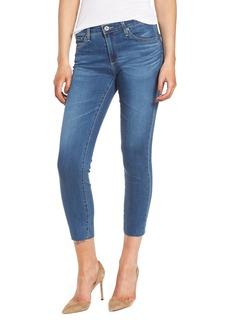 AG Prima Crop Skinny Jeans (Indigo Viking)