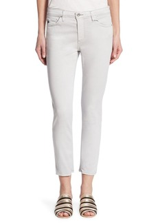 AG Prima Cropped Sateen Cigarette Jeans