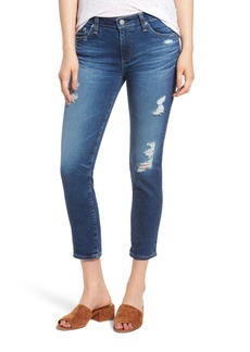 AG Prima Distressed Crop Cigarette Jeans (14 Years Radiant)