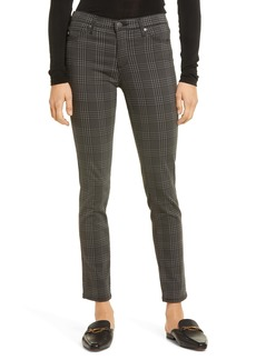 AG Adriano Goldschmied AG Prima Mid Rise Ankle Skinny Jeans (Houndstooth Plaid Folkstone)