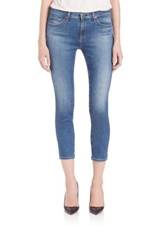 AG Prima Mid-Rise Crop Jeans