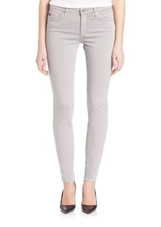 AG Prima Sateen Mid-Rise Cigarette Jeans