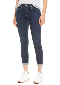 AG Prima Mid Rise Skinny Jeans (2 Years Aromatique Blue)