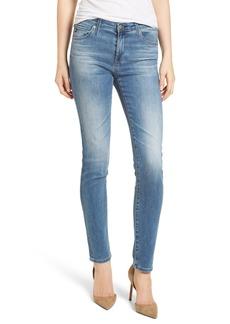 AG 'Prima' Skinny Jeans (Sea Sprite)