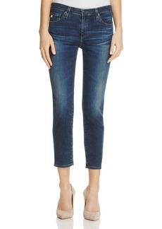 AG Prima Straight Crop Jeans in 3 Years Rendezvous