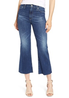 AG Adriano Goldschmied AG Quinne High Waist Crop Flare Jeans (11 Years Streaming)