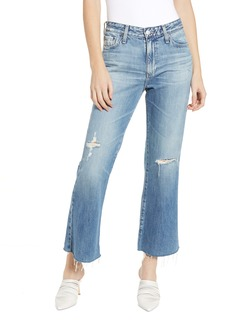 AG Adriano Goldschmied AG Quinne High Waist Kick Flare Jeans (20 Years Haste Destructed)