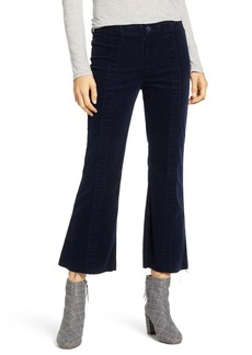 AG Adriano Goldschmied AG Quinne Paneled Corduroy Crop Flare Pants