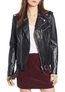 AG Adriano Goldschmied AG Reese Leather Moto Jacket