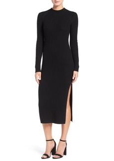 AG 'Reign' Merino Wool & Cashmere Sweater Midi Dress
