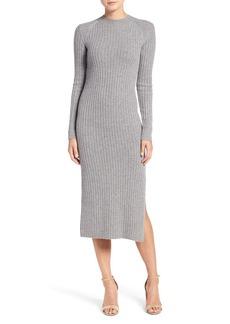 AG Adriano Goldschmied AG Reign Merino Wool & Cashmere Sweater Midi Dress