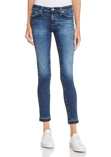 Ag Released-Hem Ankle Denim Leggings In 10 Years Heirloom