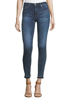 AG Adriano Goldschmied Released Hem Super-Skinny Ankle Jeans
