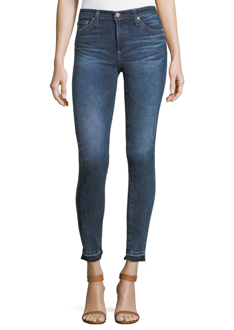 AG Adriano Goldschmied Released Hem Legging Super-Skinny Ankle Jeans