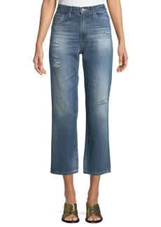 AG Adriano Goldschmied Rhett Straight-Leg Ankle Jeans