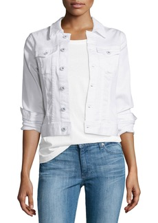AG Adriano Goldschmied AG Robyn Button-Front Denim Jacket