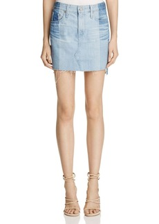 AG Sandy Denim Skirt in 19 Year Fracture