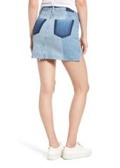 AG Adriano Goldschmied AG Sandy Raw Edge Denim Miniskirt