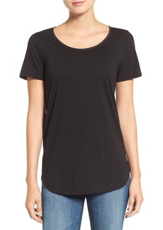 AG Scoop Neck Cotton Tee