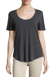 AG Scoop-Neck Relaxed Tee
