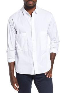AG Adriano Goldschmied AG Shiro Oversize Pockets Regular Fit Sport Shirt