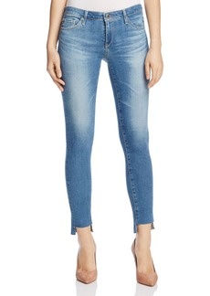AG Step-Hem Ankle Legging Jeans in Emanate