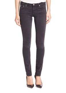 AG Stilt Cigarette Mid-Rise Skinny Jeans
