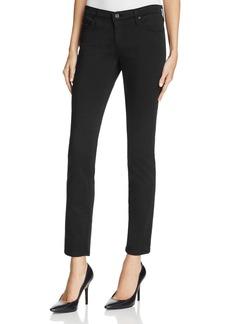 AG Stilt Cigarette Skinny Jeans in Black