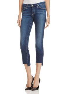 AG Stilt Crop Jeans with Raw Step Hem - 100% Exclusive