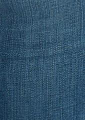 AG Adriano Goldschmied AG 'Stilt' Distressed Roll Cuff Cigarette Jeans (18 Year Flyaway)