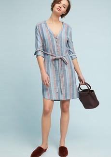 AG Striped Henley Dress