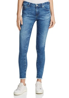 AG Super Skinny Ankle Denim Leggings in 14 Years Suspended Air