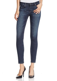 AG Super Skinny Ankle Jeans in Freefall