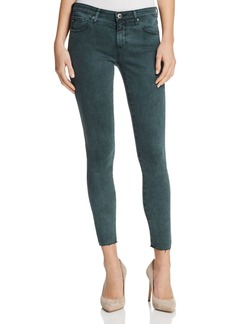 AG Super Skinny Ankle Jeans in Interstellar Night Vine