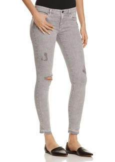 AG Super Skinny Ankle Jeans in Intersteller Worn-Silver Ash