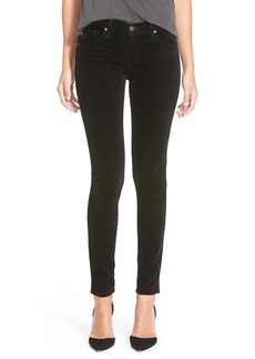 AG Adriano Goldschmied AG Super Skinny Velvet Leggings