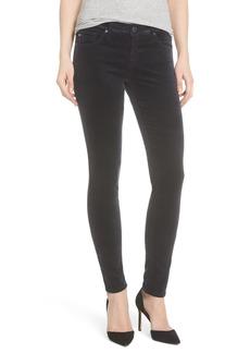 AG Super Skinny Velvet Leggings