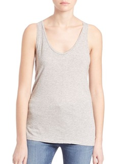 AG Supima Cotton Blend Raw Corey Tank Top