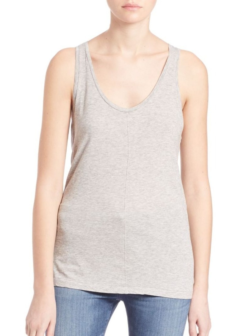 AG Adriano Goldschmied AG Supima Cotton Blend Raw Corey Tank Top