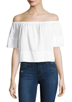 AG Adriano Goldschmied AG Sylvia Off-the-Shoulder Top