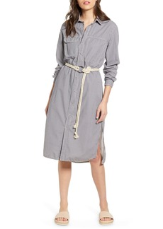 AG Adriano Goldschmied AG Taylor Long Sleeve Midi Shirtdress
