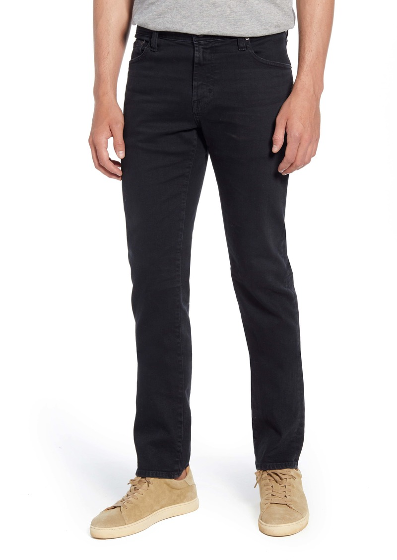 AG Adriano Goldschmied AG Tellis Slim Fit Jeans (7 Years Pure Black)