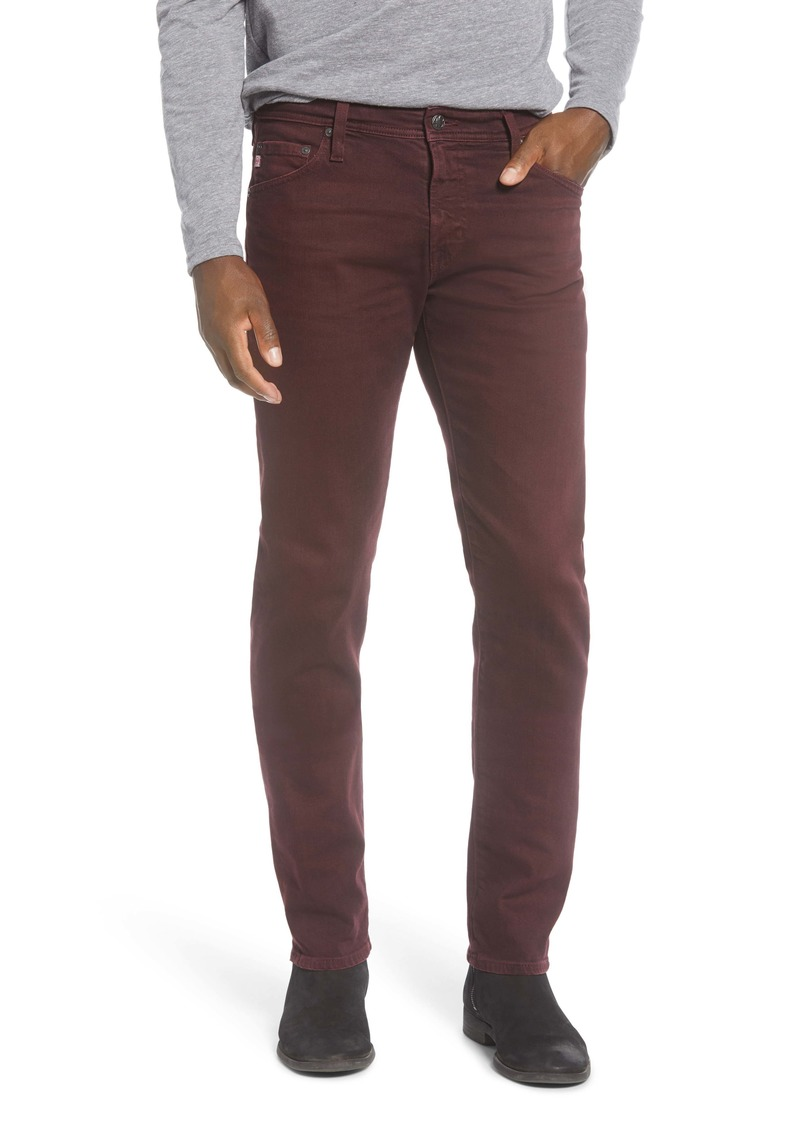 AG Adriano Goldschmied AG Tellis Slim Fit Jeans (7 Years Sulfur Boysenberry)