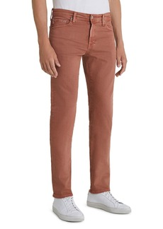 AG Adriano Goldschmied AG Tellis Slim Fit Jeans in 7 Years Sulfur Worn Copper