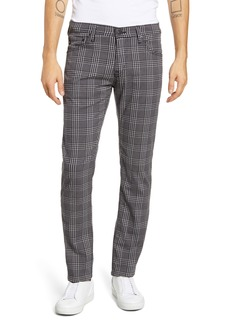 AG Adriano Goldschmied AG Tellis Slim Fit Plaid Five Pocket Pants