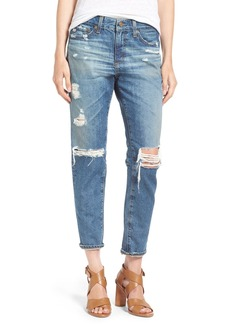 AG 'The Beau' Skinny Boyfriend Jeans (16 Years Hourglass Sand)