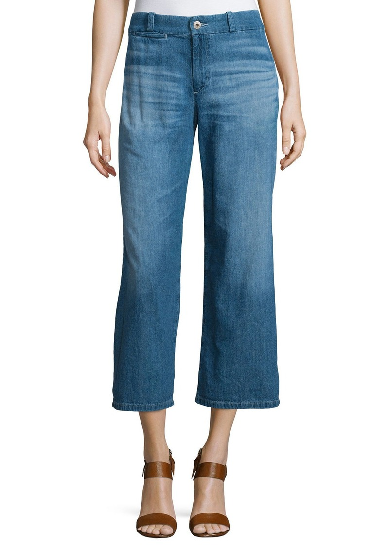 AG Adriano Goldschmied AG The Bobbie Wide-Leg Cropped Jeans