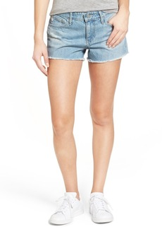 AG Adriano Goldschmied AG The Bonnie Cutoff Denim Shorts (21 Years Blue Pier)