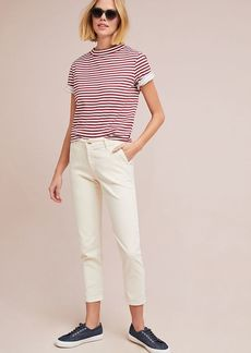 AG Adriano Goldschmied AG The Caden Mid-Rise Cropped Trousers